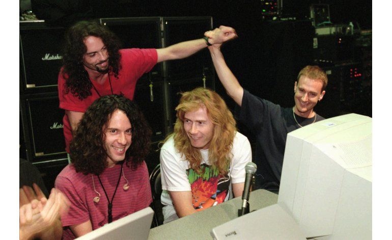 Fallece ex baterista de Megadeth Nick Menza