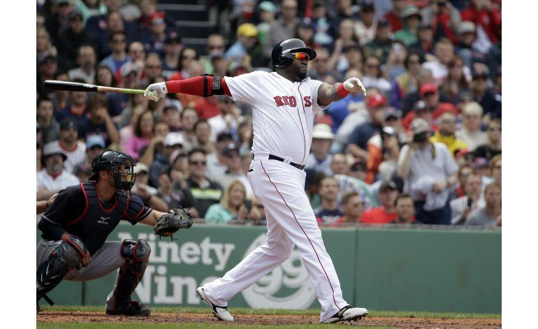 Ortiz batea 4 hits, Boston supera a Indios
