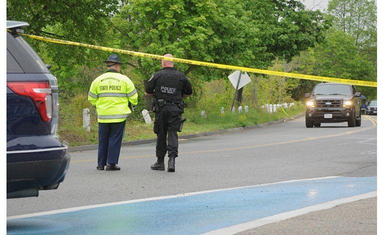 Matan a hispano que baleó a policía en Massachusetts