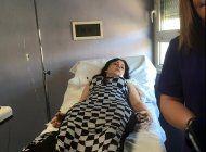 dayami 'la musa' hospitalizada y operada de urgencias