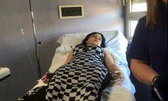 Dayamí La Musa hospitalizada y operada de urgencias