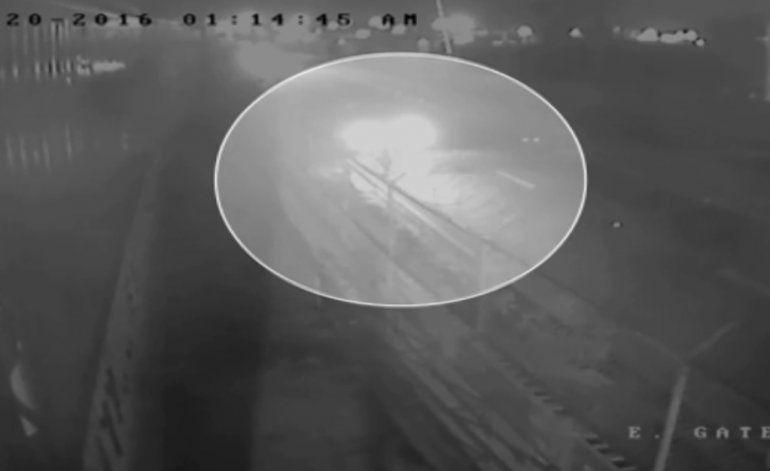 Revelan video de vigilancia de un conductor que se dio a la fuga luego de atropellar a un ciclista