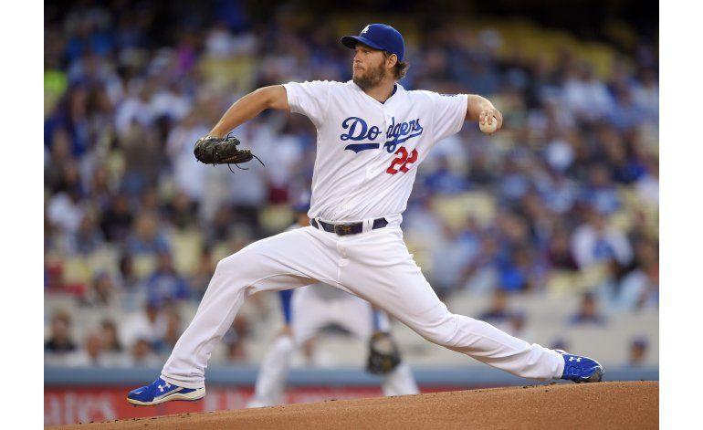 Kershaw admite 2 hits en victoria 1-0 de Dodgers ante Rojos
