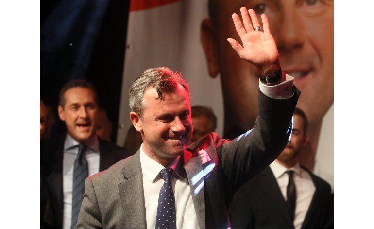 Candidato de ultraderecha derrotado en Austria pide unidad