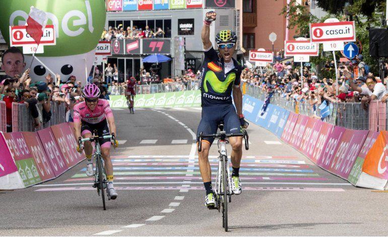 Kruijswijk sigue de líder en Giro; Valverde gana 16ta etapa