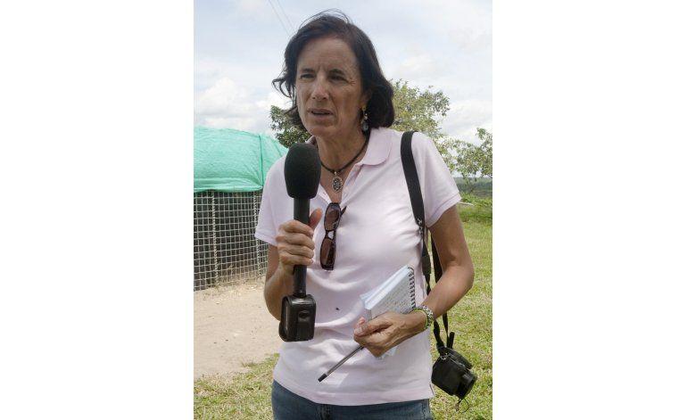 Continúa desaparecida periodista española en Colombia