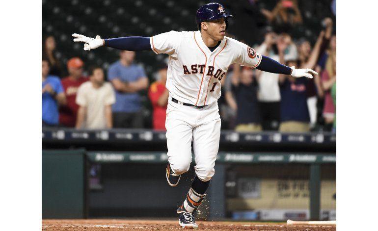 Astros ganan 3-2 a Orioles con sencillo remolcador de Correa