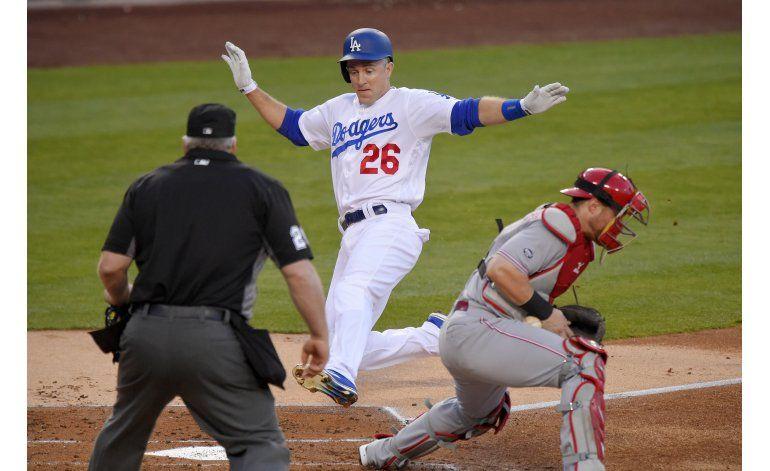 Dodgers derrotan a Rojos 8-2 en la 9na derrota de Cincinnati