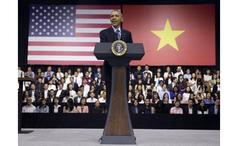 Obama a jóvenes de Vietnam: Actúen ante el cambio climático