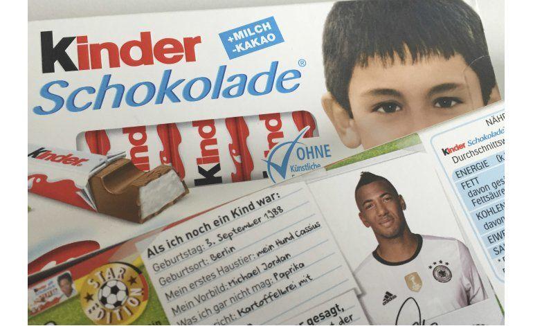 Alemania: Polémica por fotos de seleccionados en chocolates