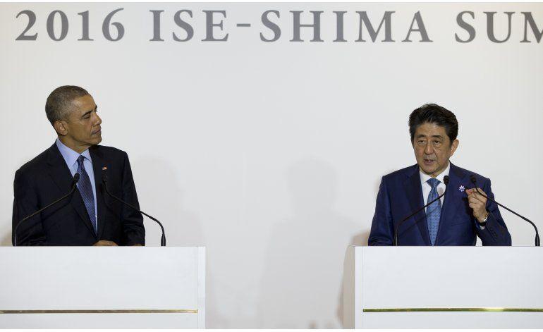 Obama inicia visita a Japón; irá a Hiroshima