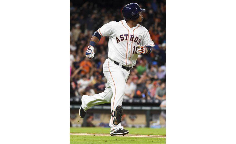 Astros ganan a Orioles con jonrón de Valbuena