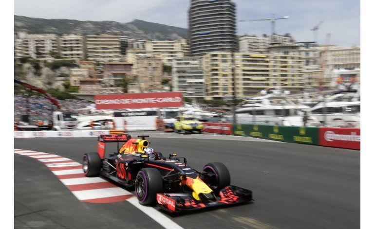 Ricciardo domina segunda práctica del GP de Mónaco