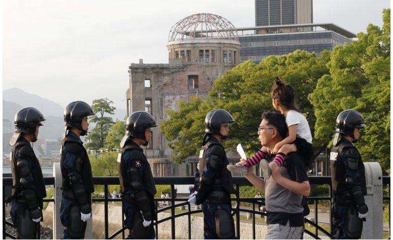 Obama hablará en Hiroshima contra las armas nucleares