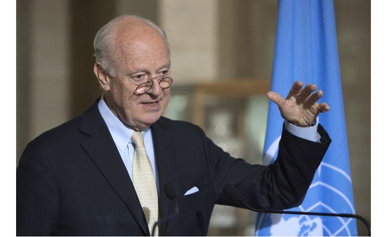ONU: Diálogo de paz para Siria no se reanudará pronto