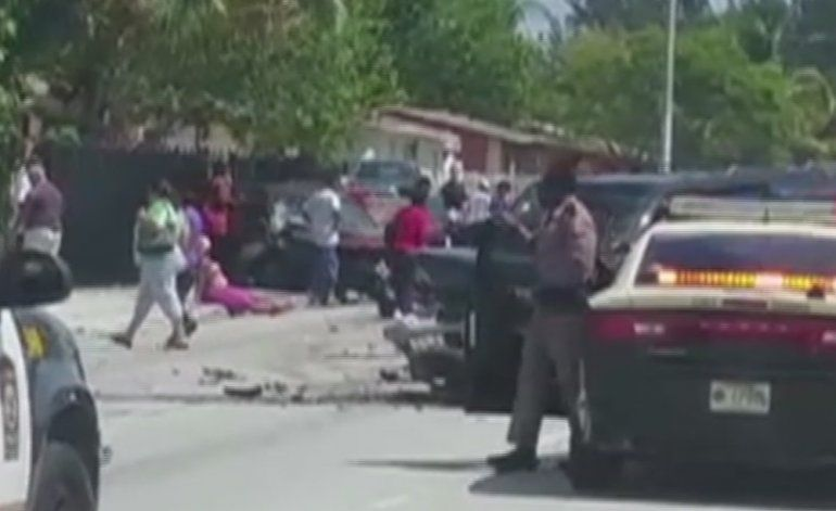 Identifican tanto al patrullero como al sospechoso que perdió la vida en tiroteo en Miami Gardens