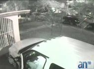 una banda de ladrones roba una camioneta en la pequena habana