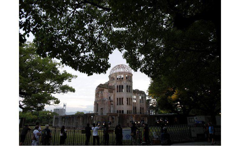 Obama en Hiroshima: cayó muerte desde el cielo