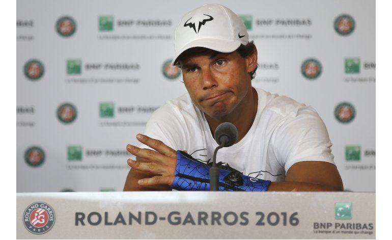 Rafael Nadal deja Abierto de Francia por lesión de muñeca