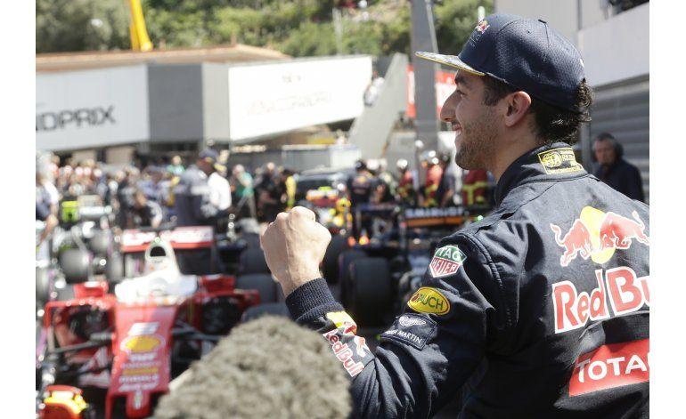 Ricciardo se apodera de la pole para el GP de Mónaco
