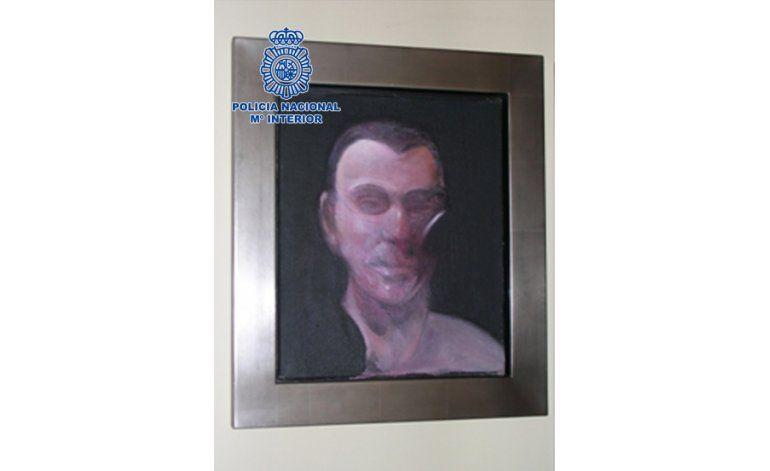 España detiene a sospechosos de robar arte de Francis Bacon
