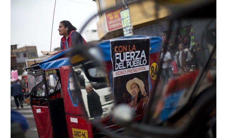 Sondeo en Perú: Fujimori abre ligera ventaja sobre Kuczynski