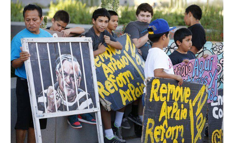 Contribuyentes de Arizona pagarán por el desacato de Arpaio