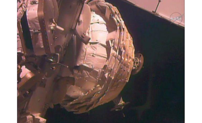 La NASA infla finalmente habitáculo experimental