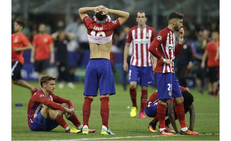 Cae el Atlético en Champions, pero vive el cholismo