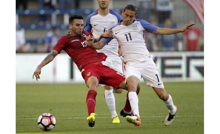 EEUU vence 4-0 a Bolivia en un último duelo de preparación