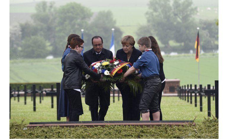 Francia y Alemania recuerdan 100 años de Batalla de Verdún