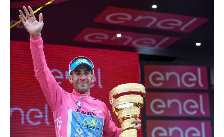 Nibali conquista su segundo Giro