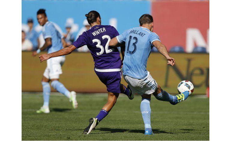 Molino anota en la prórroga; Orlando City y NYCFC empatan