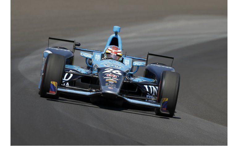 Colombiano Muñoz devastado tras derrota en la Indy 500