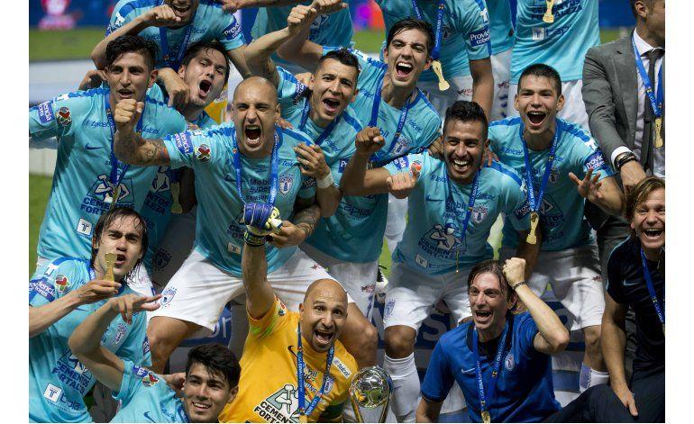 Pachuca, campeón del Clausura mexicano al vencer a Monterrey