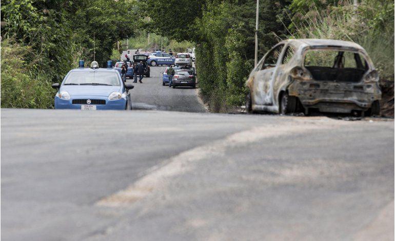 Italia detiene a hombre que quemó viva a su ex novia