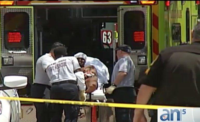 Actividad policías en el NW de Miami