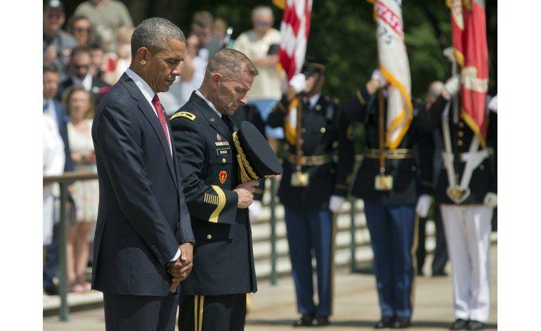 Obama pide apoyar a las familias de los veteranos