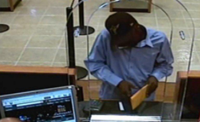 FBI pide ayuda para localizar a un ladrón de bancos en serie