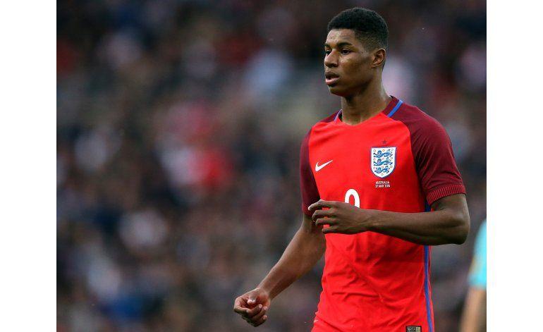 Inglaterra: Marcus Rashford es convocado a la Euro 2016