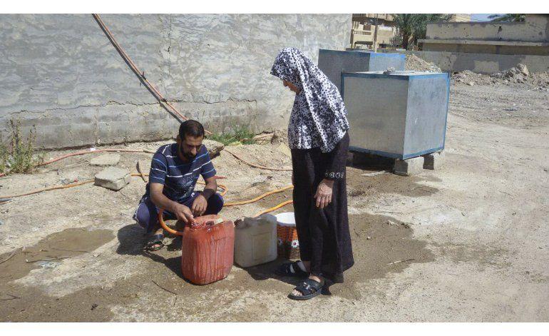 UNICEF: 20.000 niños iraquíes siguen atrapados en Faluya