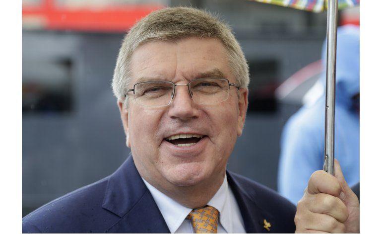 Jefe del COI supervisará trabajos para los juegos de Río