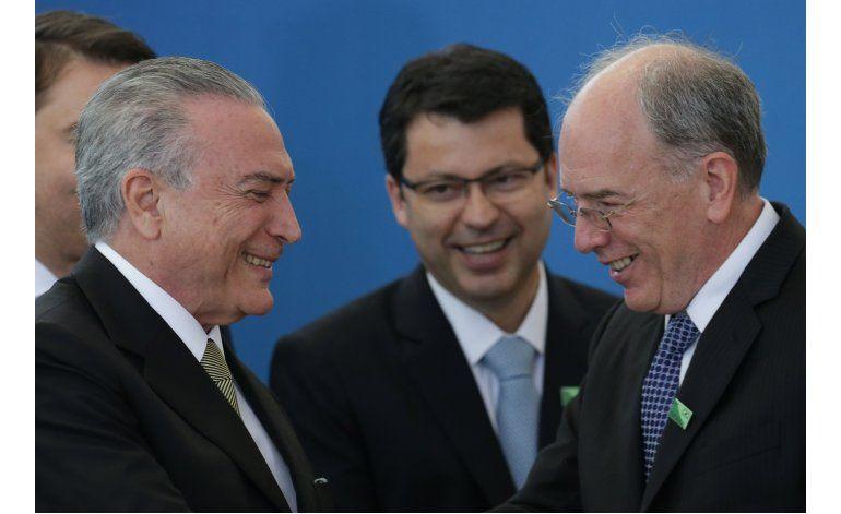 Brasil: Temer dice que no habrá interferencia en pesquisa
