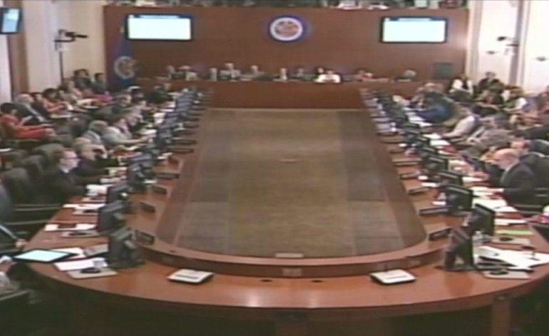Venezuela intenta suspender sesión extraordinaria de la OEA