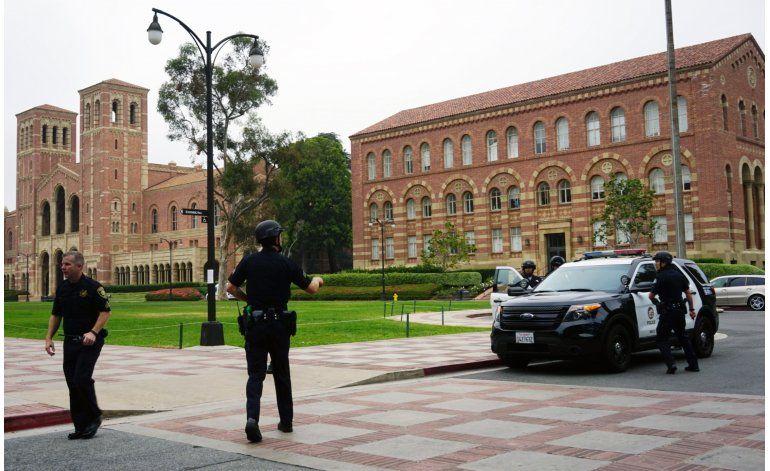 Universidad de California, del miedo al dolor tras balacera