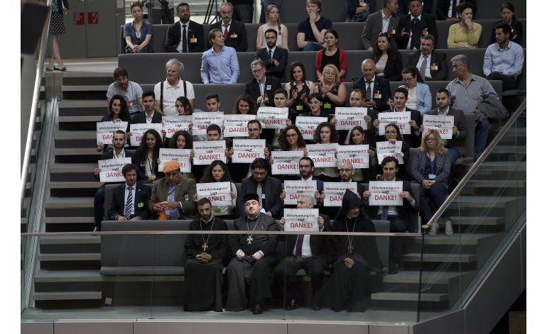 Alemania califica de genocidio el asesinatos de armenios