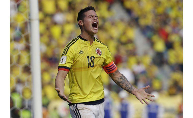 ¿Cómo llega James? Esa es la interrogante de Colombia