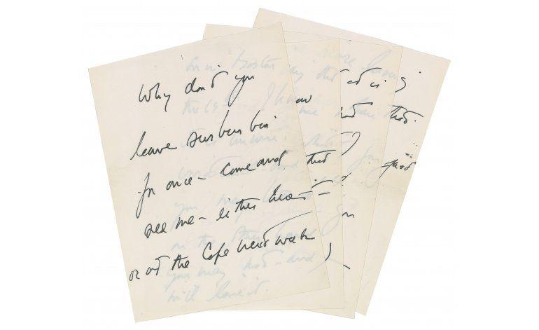 Subastarán carta escrita por JFK a una supuesta amante
