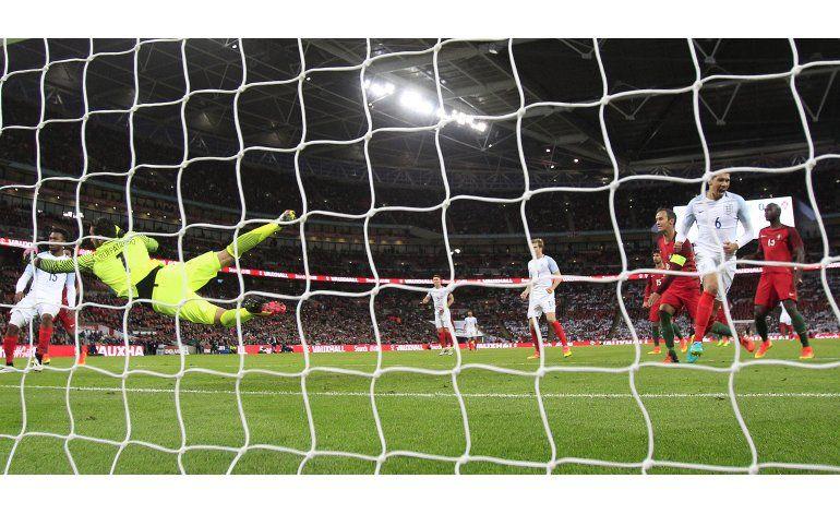 Inglaterra supera 1-0 a Portugal y completa su preparación