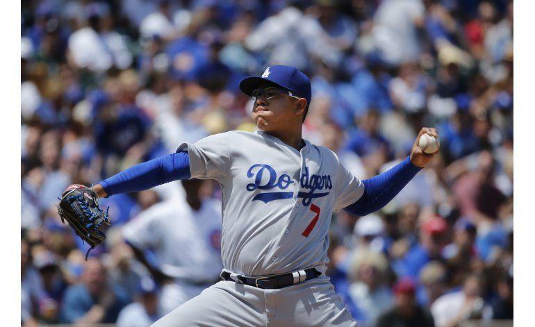 Báez batea jonrón; Cachorros apalean a Urías y Dodgers